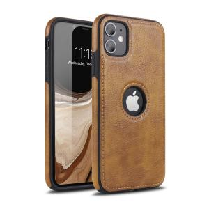 China Iphone11 Car Line Stitching Leather Soft Funny Phone Cases factory