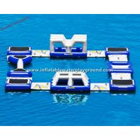 Outdoor Amusement Park Inflatable Water Games For Commercial