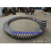 Buy cheap Mechanical Heavy Forged Steel Straight Bevel Ring Gears Max 8000mm from Wholesalers