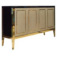 Buy cheap 5 Star Hotel Style Bedroom Furniture , High Endmetal Frame Dresser Customized from Wholesalers