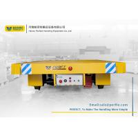 Buy cheap 20 ton rail electric transfer flat carts for material handling from Wholesalers