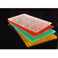 Buy cheap Colorful Diamond Surface Polycarbonate Solid Sheet Lightweight 2-12mm from wholesalers