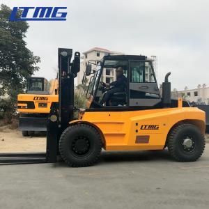 China Factory Workshop Diesel Forklift Truck 15 Ton Capacity 1800mm Fork Length on sale