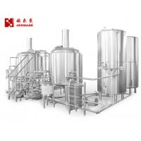 China Long Service Life Automated Brewing System , 1000L Craft Beer System factory
