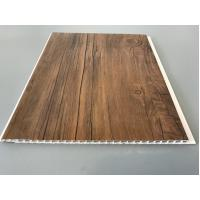 China 10 Inch Wooden laminate ceiling panels Thickness 7.5mm For Ceiling factory