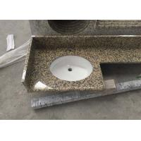 China Stone granite Golden Leaf countertops kitchen top vanity table top factory