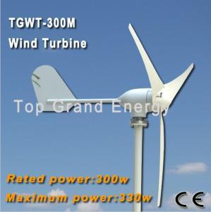 TGWT-300M 300W 12V/24V wind turbine Three phase permanent magnet AC synchronous generator