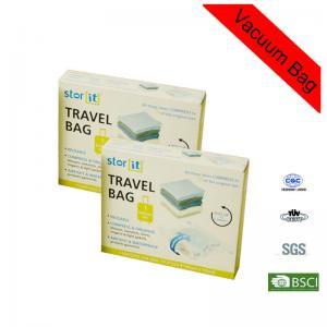 Buy cheap Custom Zip Lock Large PET / PE Sealed Pillows Cushions Clothes Vacuum Bag from Wholesalers
