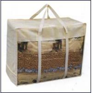 China Steel Wire Bag /Blanket Bag /Zipper Bag factory