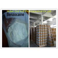 CAS 94-09-7 Benzocain Local Anesthetic Powder White Crystalline For Pain