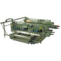Construction Glass Edge Polishing Machine / Glass Edge Grinder With Touch Screen
