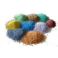 China Lightweight Recycled Rubber Pellets / Customized Size Rubber Granules Flooring factory