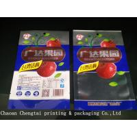 China Different Design Dry Fruit Packing Bags Clear Window For Leisure Food 500g on sale