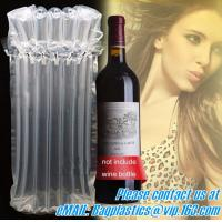 China Air Bubble bags, wine carriers, juice beverage bags, drink ice bags, wine gift, portable factory