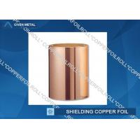 Buy cheap Customized Red RA Copper Foil For Shielding , rolled copper foil sheet from Wholesalers