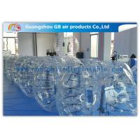 China Clear Giant Inflatable Hamster Ball Human Bubble Ball With Custom Logo Printing factory
