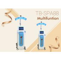 Quality Diamond Dermabrasion Oxygen Jet peel PDT Therapy Skin Scrubber Microcurrent Machine for sale