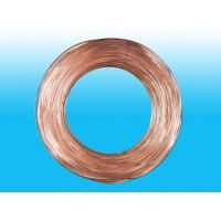 Buy cheap Double Wall Steel Strip Air Conditioning Copper Tubing 4.76 * 0.5 mm from Wholesalers