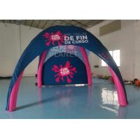 China Pink Color Inflatable Spider Tent Portable Inflatable Advertising Tent factory