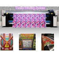 China Large Format Digital Fabric Printing Machine Textile Printing System Support Oversea Service on sale