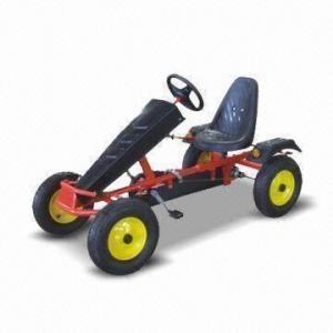 China Go Kart with Pb-free/UV-resistant Powder Coating and 120kg Loading Capacity factory