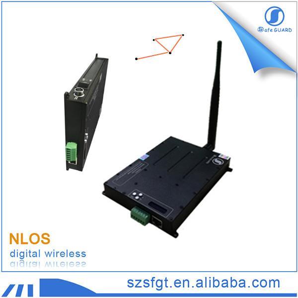 Quality Ethernet radio 1.4GHz RJ45 IP RF wireless COFDM transceiver for sale