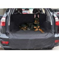 China Waterproof Dog Car Seat Covers For Trucks / Durable Custom Back Seat Pet Protector on sale