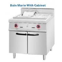 Buy cheap 304# S S Bain Marie countertop gas deep fryer with cabinets from Wholesalers