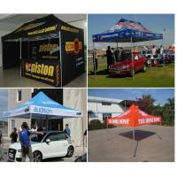 Buy cheap Promotional large strong pop up gazebo , customized outdoor gazebo tent advertising from Wholesalers