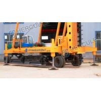 Quality Foot-step Long Auger Drilling Rig with wheels wholesale