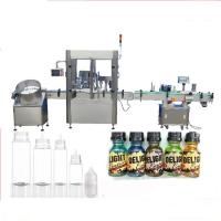 China Servo Motor Dropper Bottle Filling Machine , Touch Screen Control Perfume Capping Machine factory