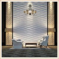 Buy cheap 3d wall panel interior pvc wood laminate decorative paneling from Wholesalers