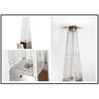 Buy cheap Tall Quartz Glass Tube Patio Heater , Powder Coated / Stainless Steel Gas Patio Heater from Wholesalers