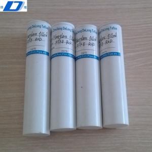 China glass fiber Filled PTFE ROD on sale