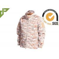 Buy cheap Warm Military Tactical Jackets Digital Desert Color , Winter Law Enforcement Outerwear from Wholesalers