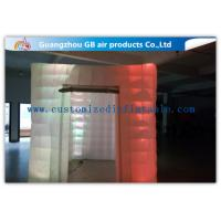 China Cool Portable Cube Led Photo Booth Inflatable Decorative Lighting UV Resistant factory