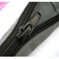 Buy cheap Black PET Zipper Cable Sleeve Braided Wrap Expandable For Cable Management from Wholesalers