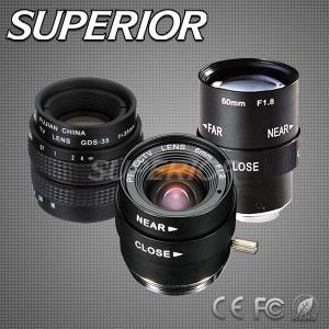 China Superior Monofocal Manual Iris CCTV Lens (SP2516M, SP3518M, SP5018M) factory