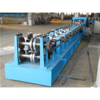 Buy cheap Automatic Z Purlin Roll Forming Machine , Durable Roll Former Machine Chain Drive from Wholesalers
