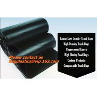 China Refuse sacks, drum liners, bags on a roll, trash collection bags, collection bags, sacks factory