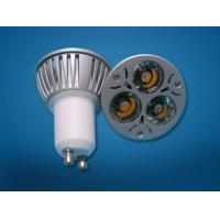 China Dimmable LED GU10 (3*1W) lighting on sale