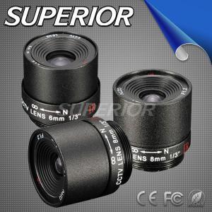 China Fixed Iris CCTV Camera Lenses (SP0816F, SP1216F, SP1616F, SP2516F) factory