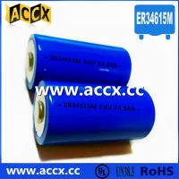 China Primary Lithium/ER Battery with 3.6V Voltage and 19Ah Capacity er34615 factory
