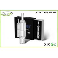 China 510 Thread Dry Herb Wax And Oil Vaporizer Clear 2.0ohm - 2.5ohm Cloutank M3 factory