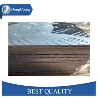 China 100 - 1500mm Width Checker Plate Aluminum Sheets Floor Material For Airplane factory