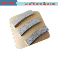 Buy cheap 035 Trapezoid concrete grinding disk from wholesalers