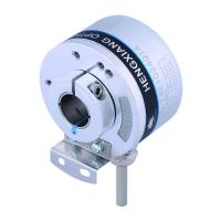 Buy cheap K50 Optical Position Encoder , Hollow Shaft Optical Encoder 14mm Line Driver Output 5V DC 5000 Resolution from Wholesalers