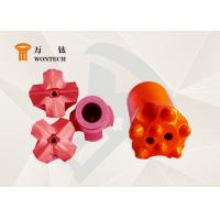 China Piling Work Alloy Steel Taper Button Bit Special Structure ISO9001 Approval factory