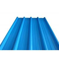 Buy cheap Length Max 3000mm Galvanized Corrugated Panels , SGCC Corrugated Zinc Roofing Sheets from wholesalers