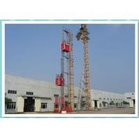 Buy cheap Resident Construction Passenger Material Hoist With Frequency Control System from Wholesalers